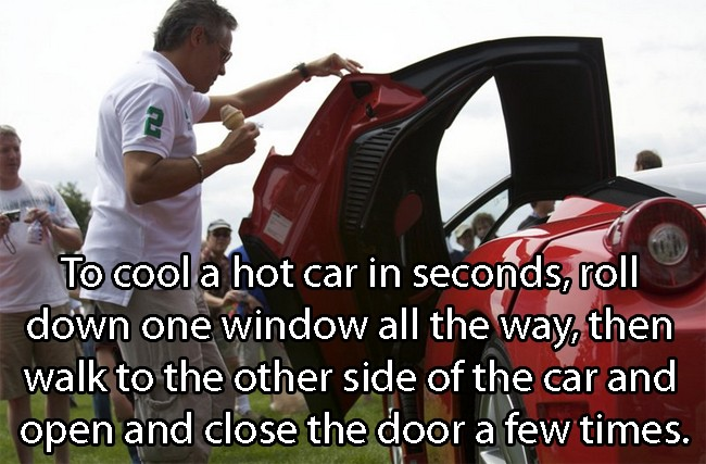 How To Cool A Car In Seconds