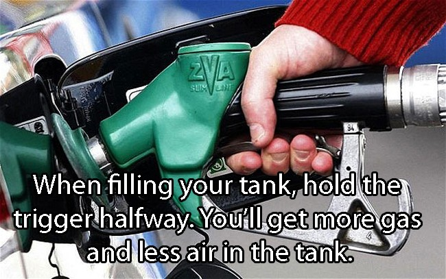 How To Fill Gas Tank
