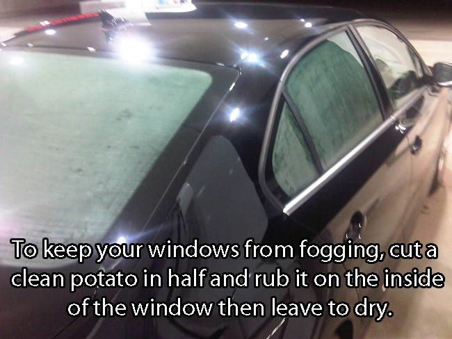 How To Prevent Windows From Fogging