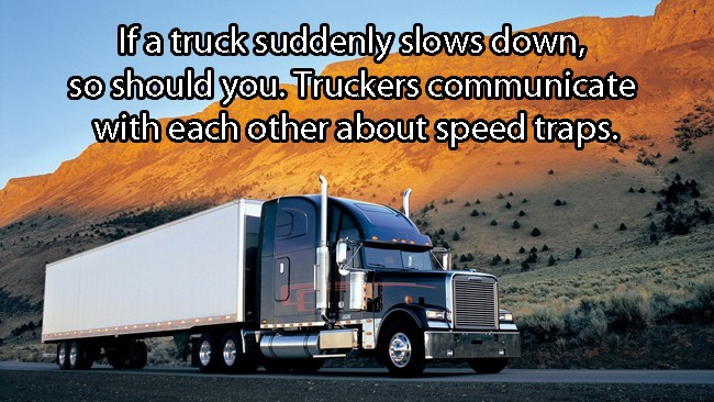 If A Truck Suddenly Slows Down