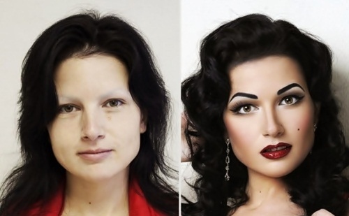 Make Up Transformations-12