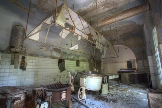 Poveglia abandoned Psychiatric Ward In Italy