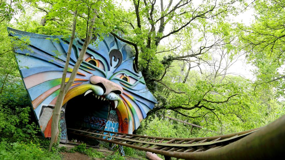 Spreepark, Germany. This amusement park has been abandoned since 2002