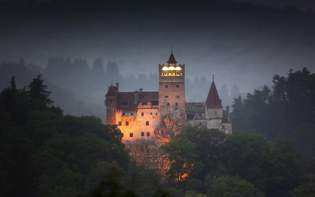 The Eerie Bran Castle In Transylvania