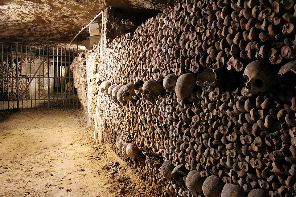 The Famous Paris Catacombs