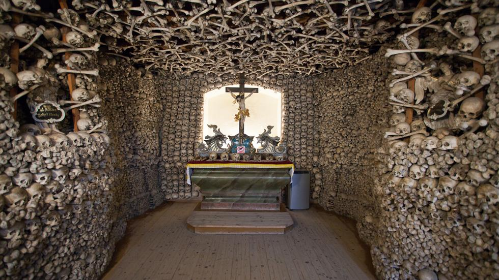 The Skull Chapel In Poland