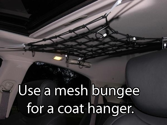 Use A Mesh Bungee
