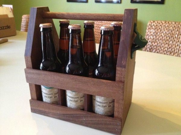 DIY reusable six pack holder