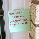 18 Doorbell Notes That Are So Bad, They're Good