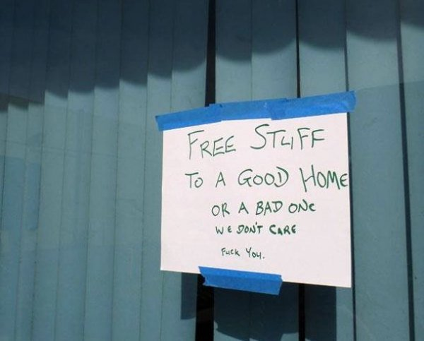 Free stuff for home