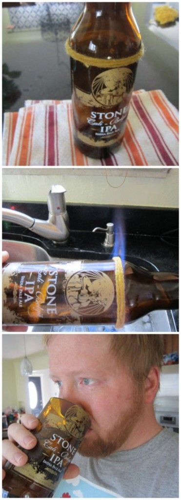 Make your own beer glass