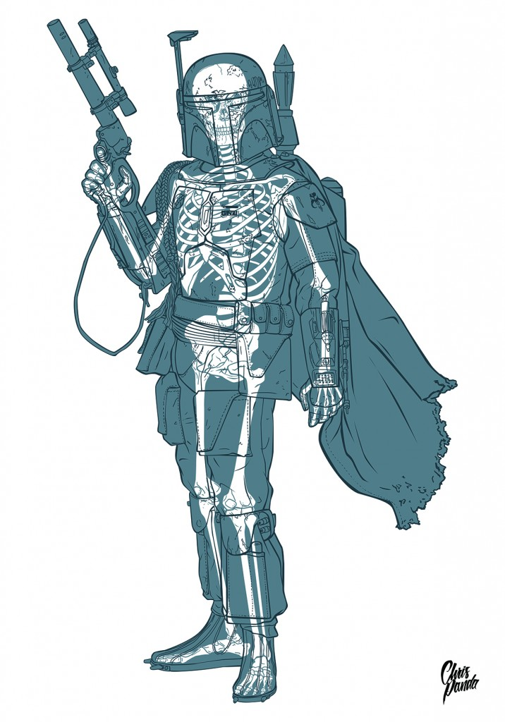Skeletons In Coloring Book Pages-06