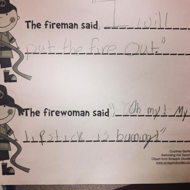 The Difference Between Fireman and Firewoman