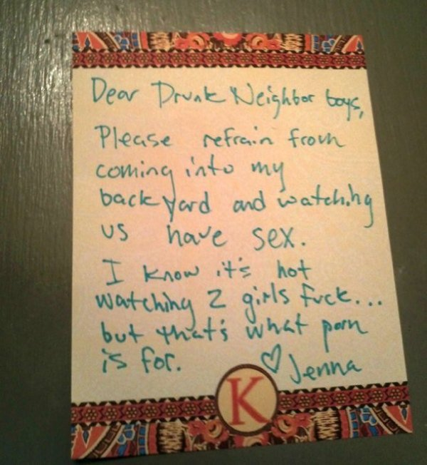 28 People Left Epic Notes For Weird Reasons The Wondrous