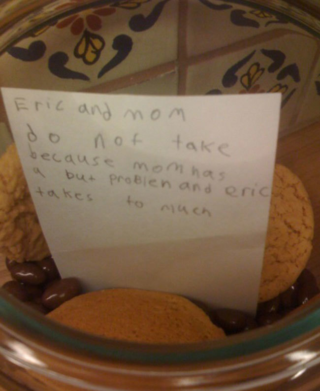 To Eric And Mom