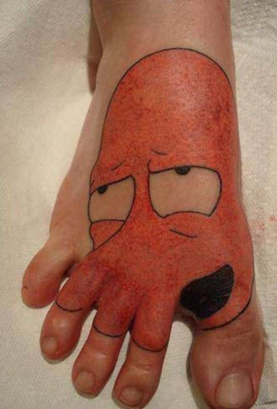 Funny Tattoos To Make You Smile
