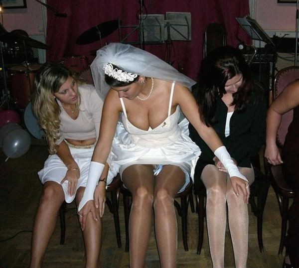 Drunk bride