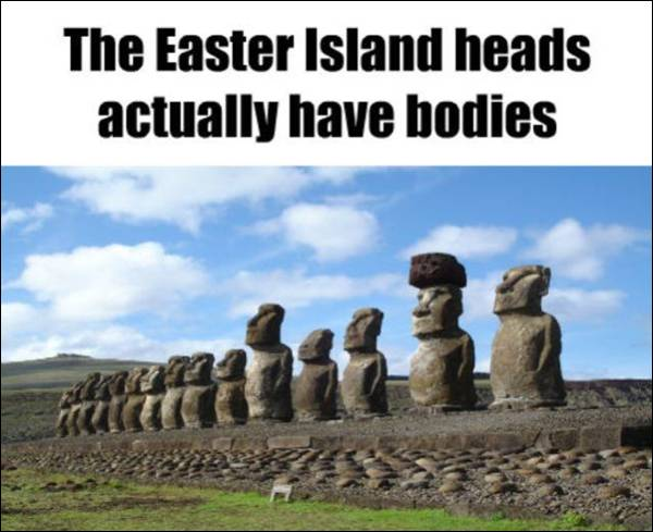 Fact about Easter Island