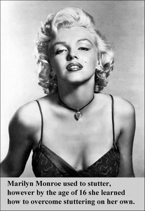 Fact about Marilyn Monroe