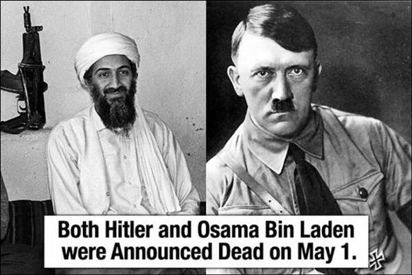 Fact about Osama Bin Laden and Hitler