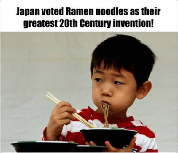 Fact about Ramen noodles