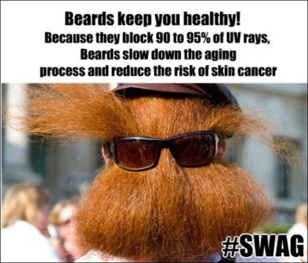 Fact about beards