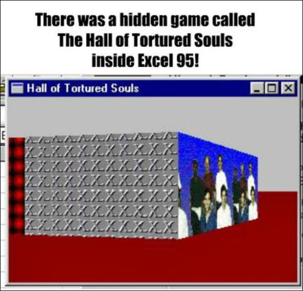Fact about excel 95