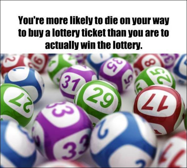 Fact about lotteries
