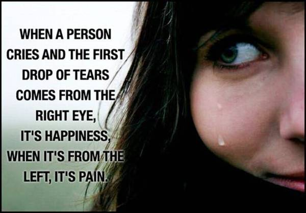 Fact about tears