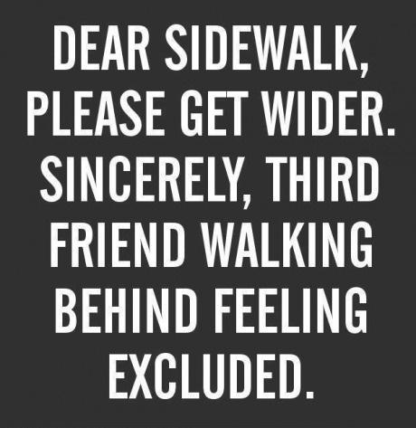 a message to sidewalk