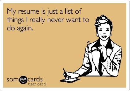 best resume ever