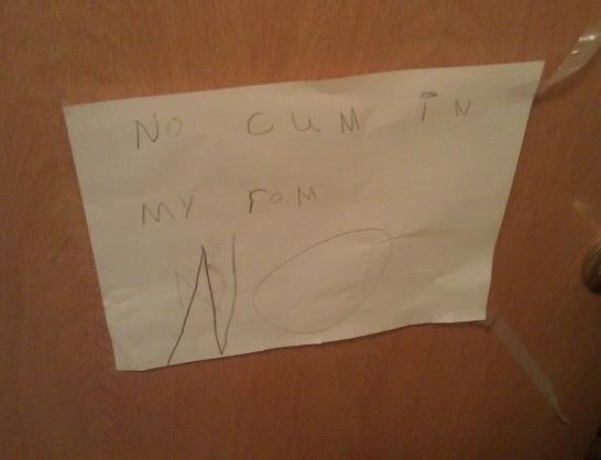 This suspicious note