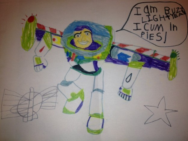 This toy story drawing