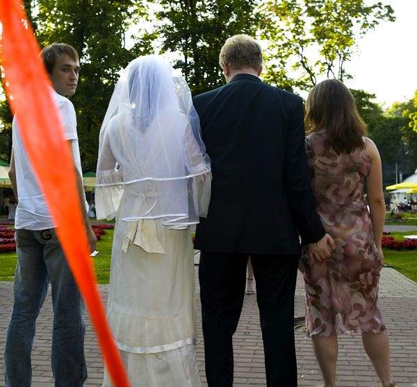 This wedding photo