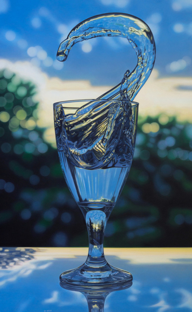 Realistic Paintings Created With Acrylic Paint