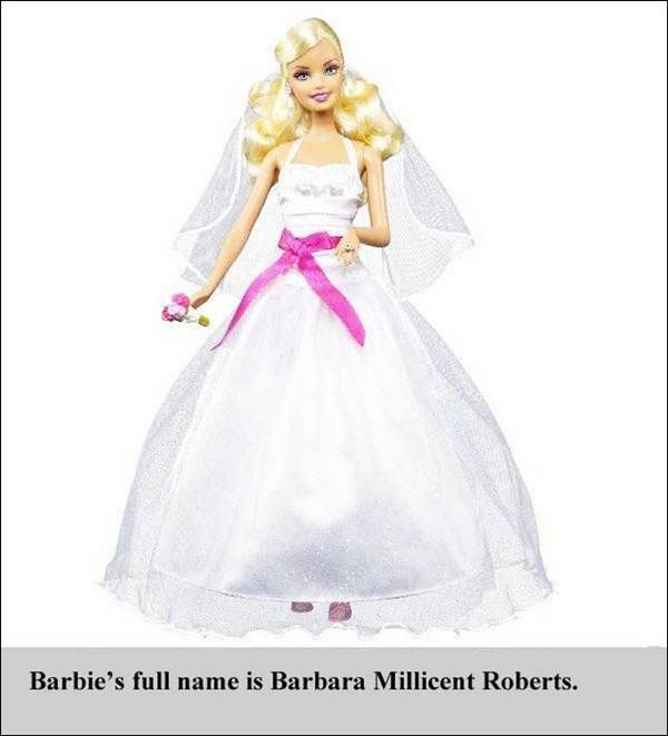 What is the full name of Barbie
