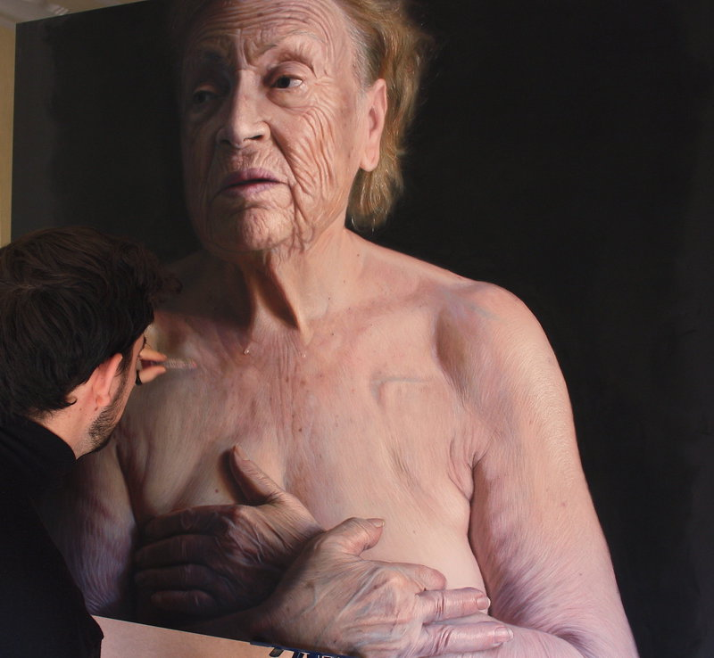hyperrealistic portraits using pastels-01