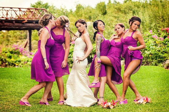 sexy wedding picure