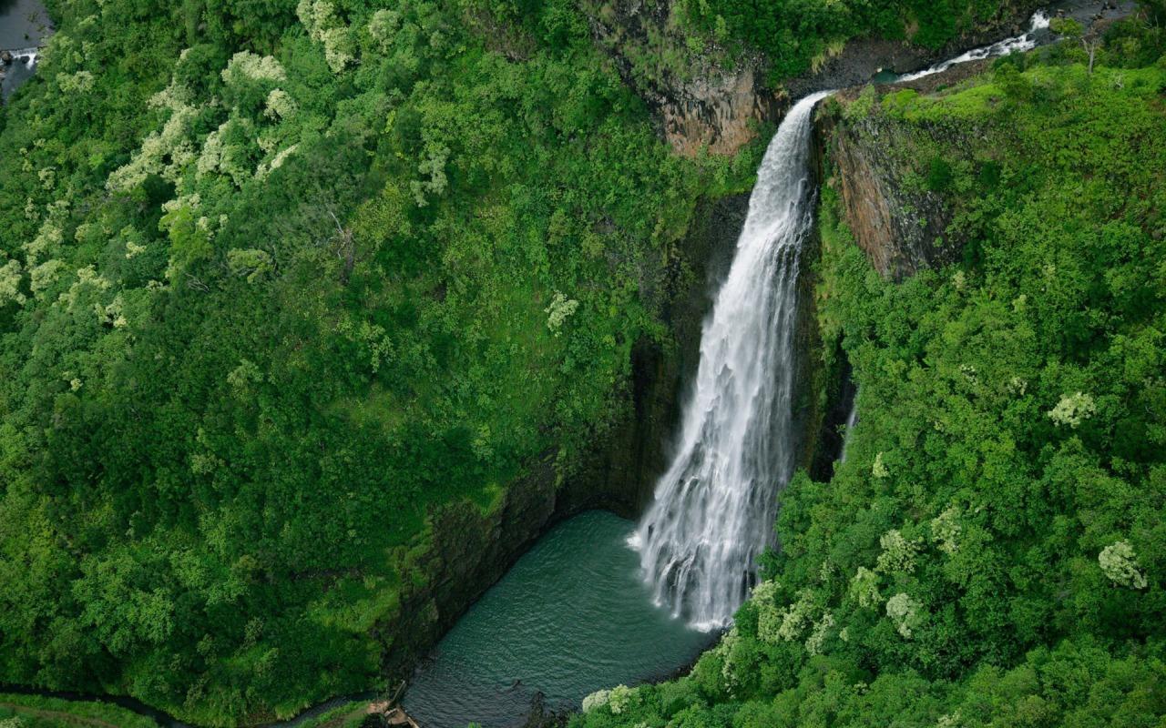 this nature waterfall