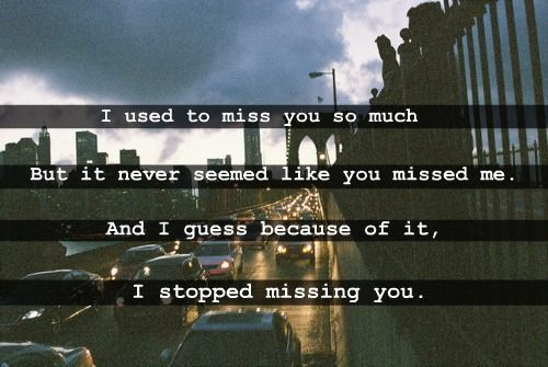 miss you love