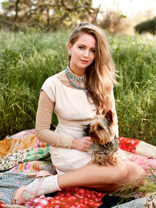 Jennifer Lawrence photoshoots