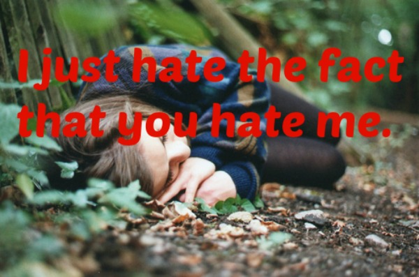 hate me quotes