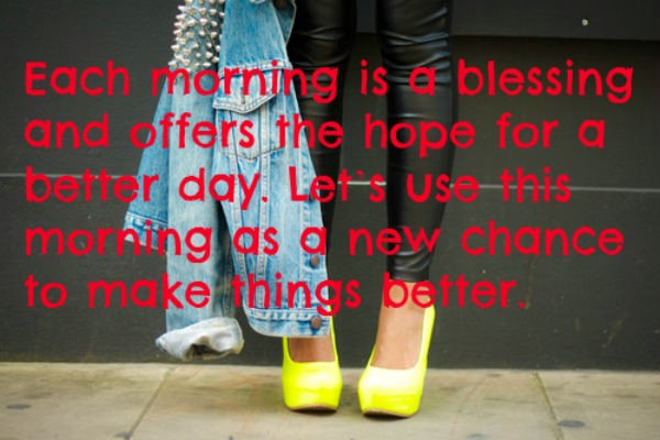 quotes good morning
