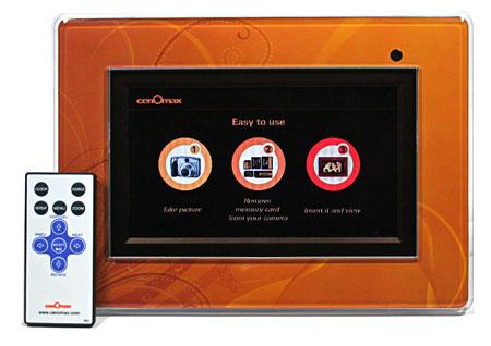 Cenomax F7024B 7-inch Digital Photo Frame