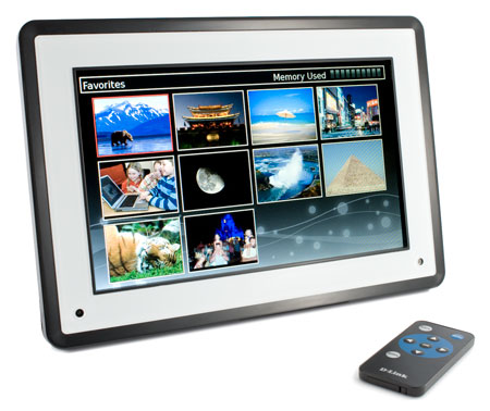 D-Link Wireless Photo Frame (DSM-210)