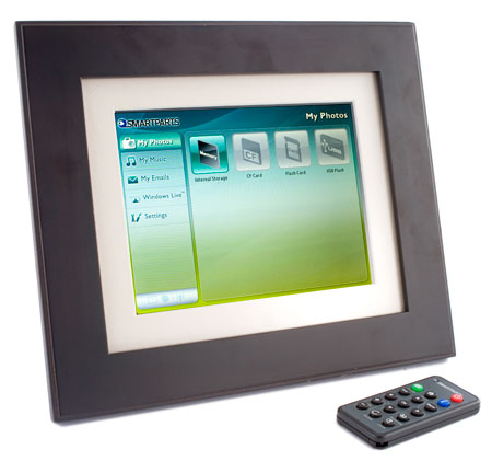 Smartparts 8 WiFi Digital Picture Frame (SPX8WF)