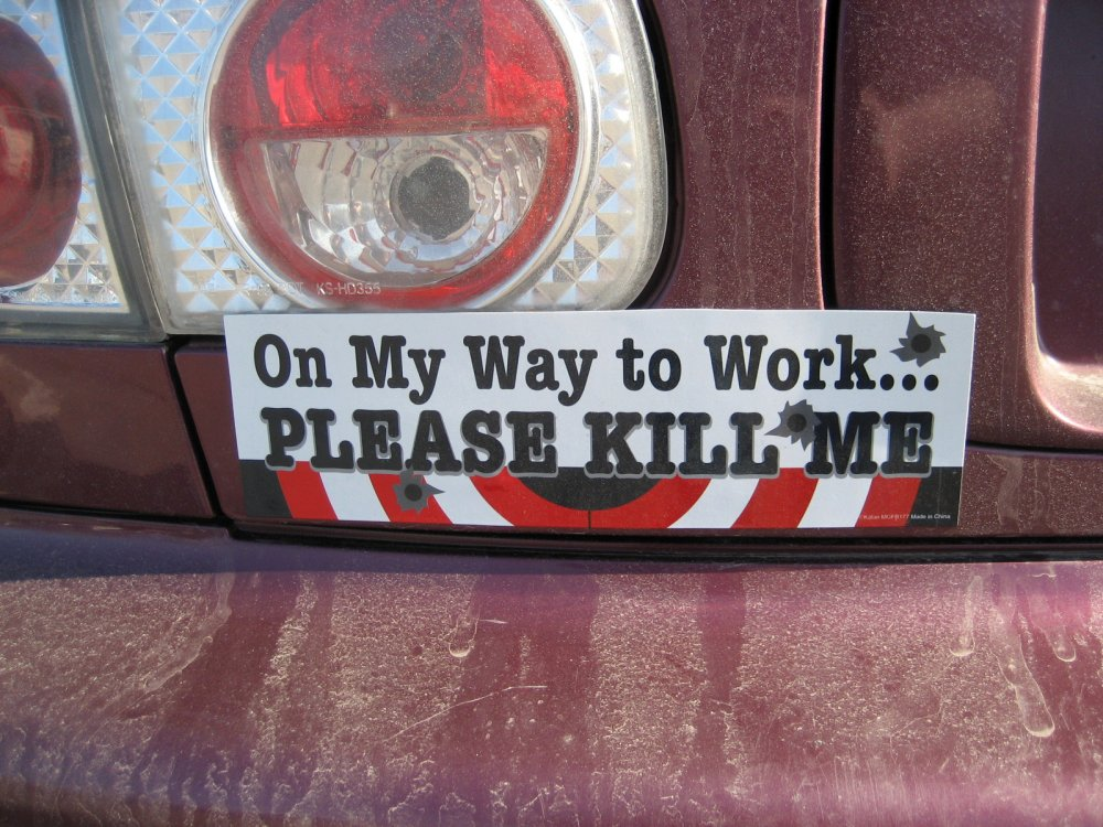 The 36 best funny bumper stickers of all time