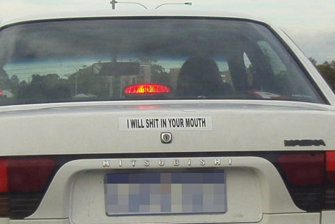 Awesome Car Bumper Stickers