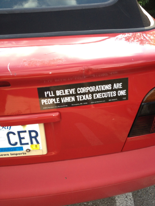 The Best Funny Bumper Stickers Of All Time - Custom car bumper stickers