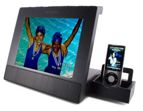 digital picture frames - Insignia NS-DPF8IP